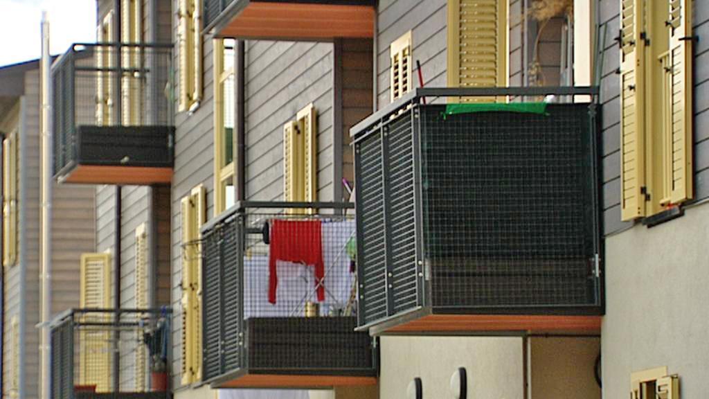 Nové budovy postavené u Aquily