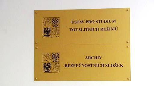 Ústav pro studium totalitních režimů a Archiv bezpečnostních složek