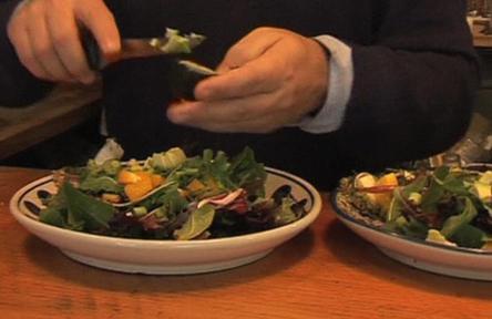 Příprava vitariánského jídla