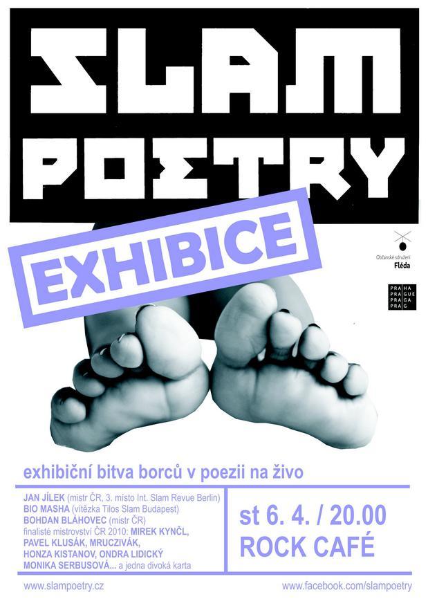 Slam poetry v pražském Rock Café