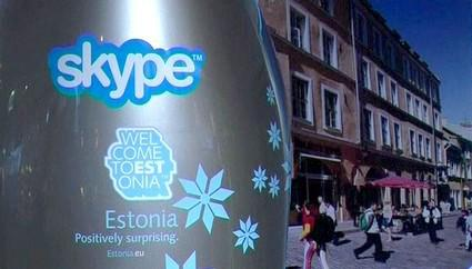 Veřejný teminál pro Skype