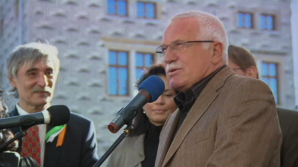Ladislav Bátora s prezidentem