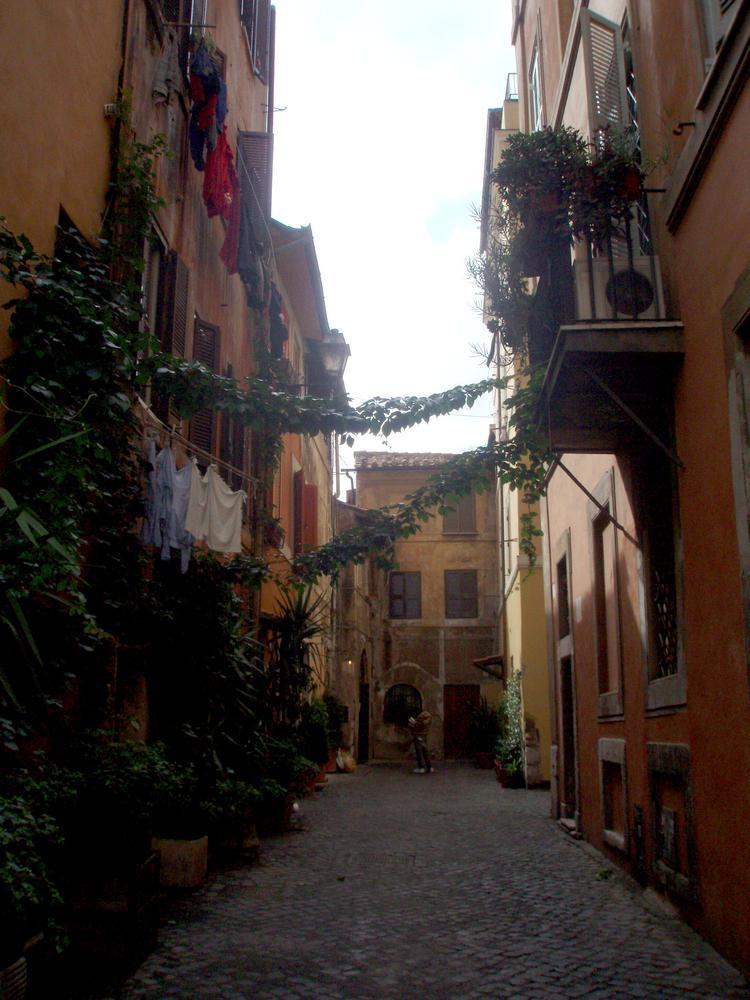 Typická římská ulička