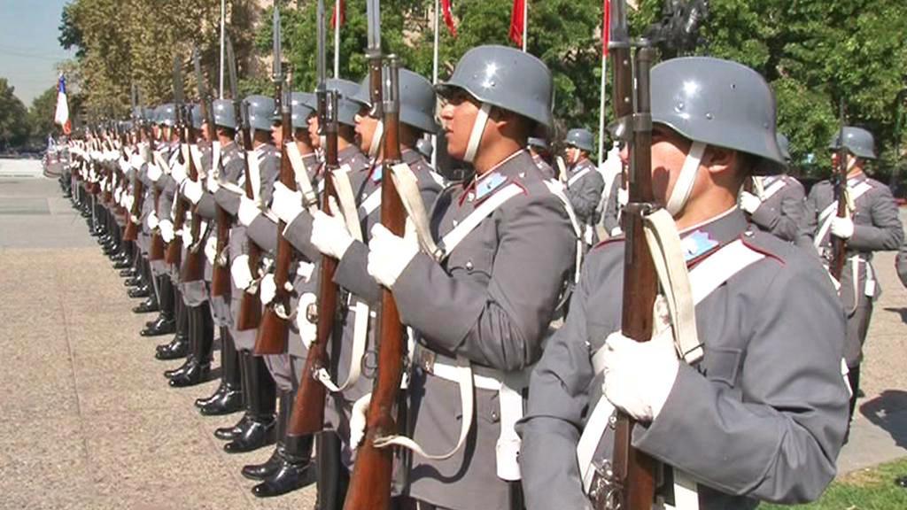 Chilská čestná stráž