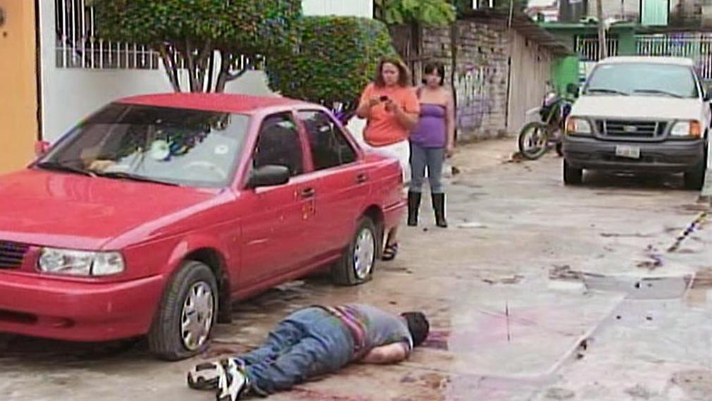 Oběť mexických drogových kartelů