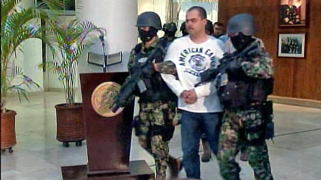 Zatčení mexického drogového bosse