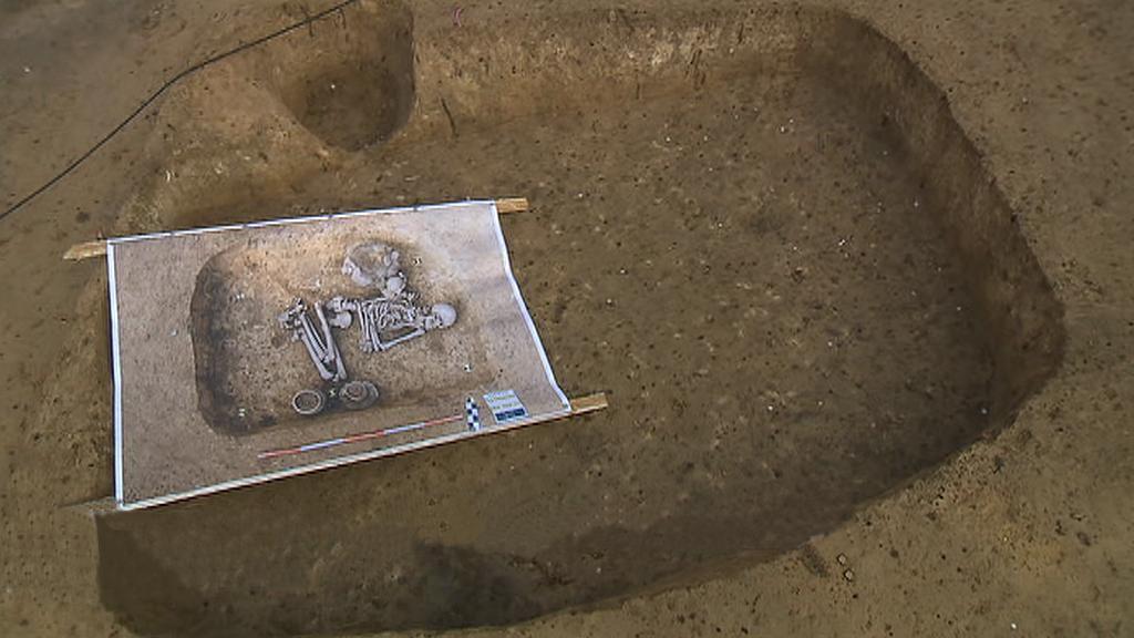 Eneolitcký hrob