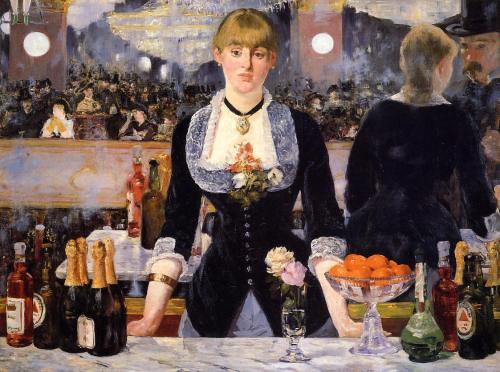Edouard Manet / Barmanka