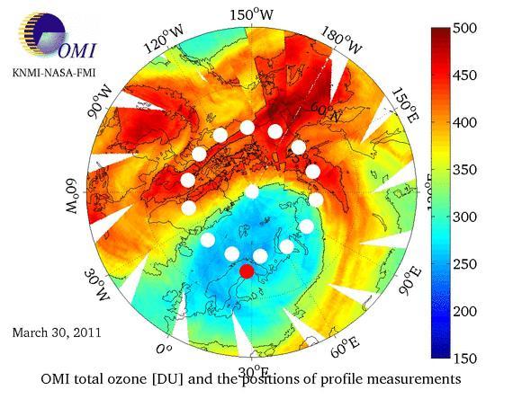 Ozon v Arktidě