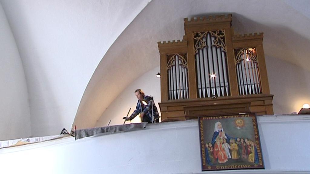Varhany ve Všerubech