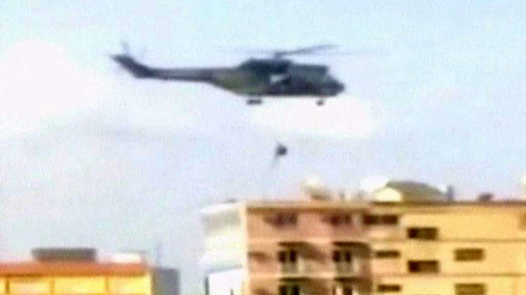 Vrtulníky OSN v Pobřeží slonoviny