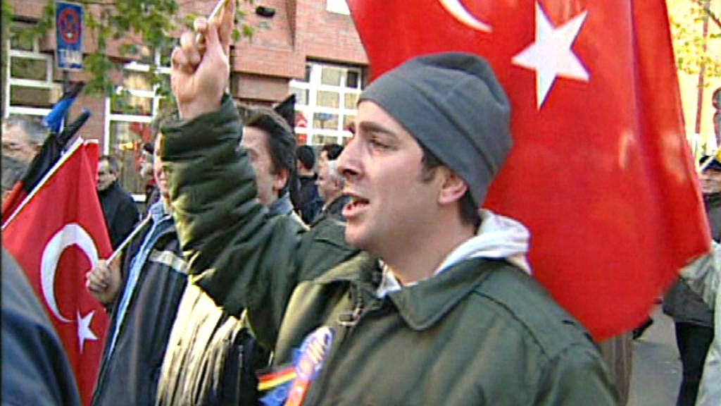 Protesty tureckých muslimů