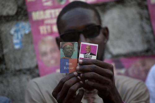 Prezidentské volby v Haiti