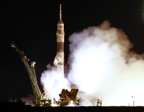 Start kosmické lodi