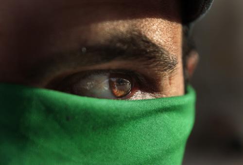 Stoupenec Muammara Kaddáfího