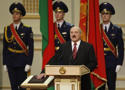 Alexandr Lukašenko se počtvrté ujal funkce běloruského prezidenta