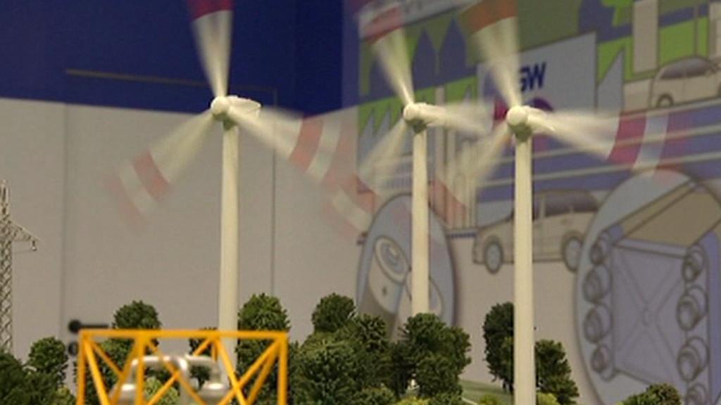 Model větrné elektrárny