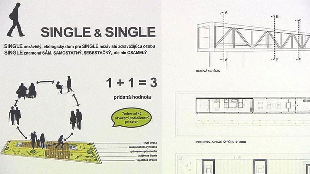 Single - ekologický dům pro singles