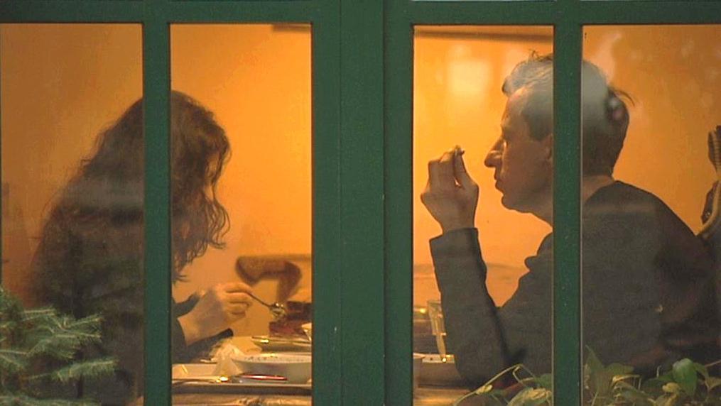 V restauraci