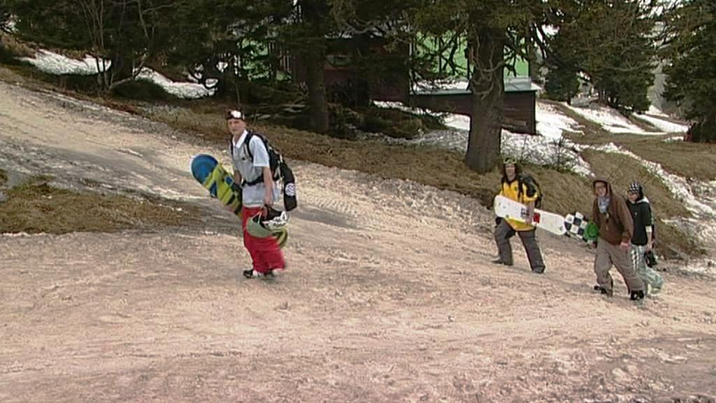 Konec lyžařské sezony