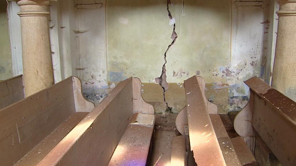 Zkáza kostela v Javorníku