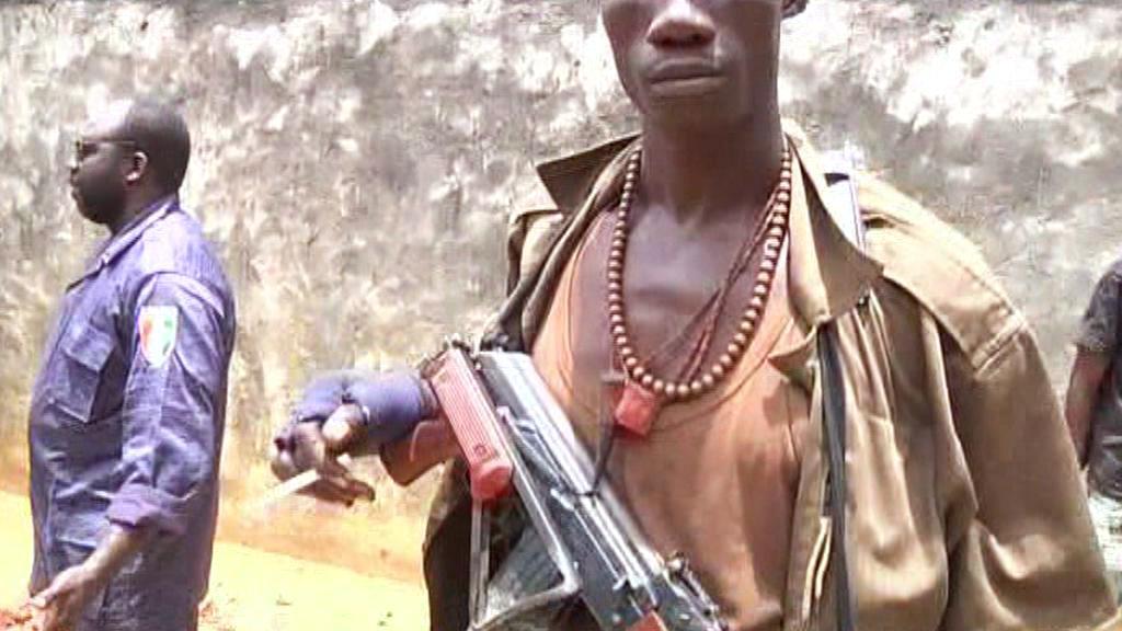Ozbrojenci v Pobřeží slonoviny