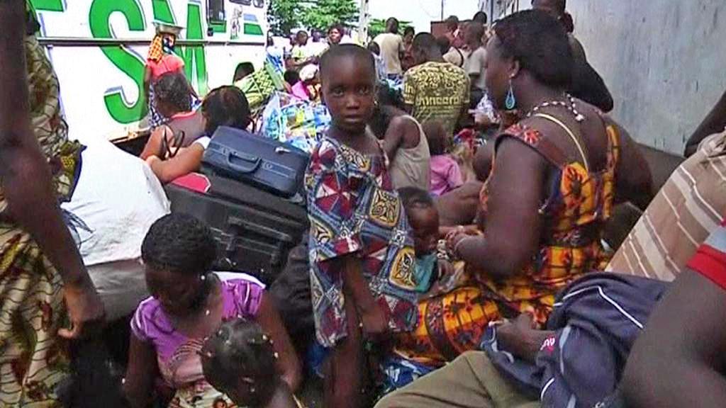 Uprchlíci v Pobřeží slonoviny