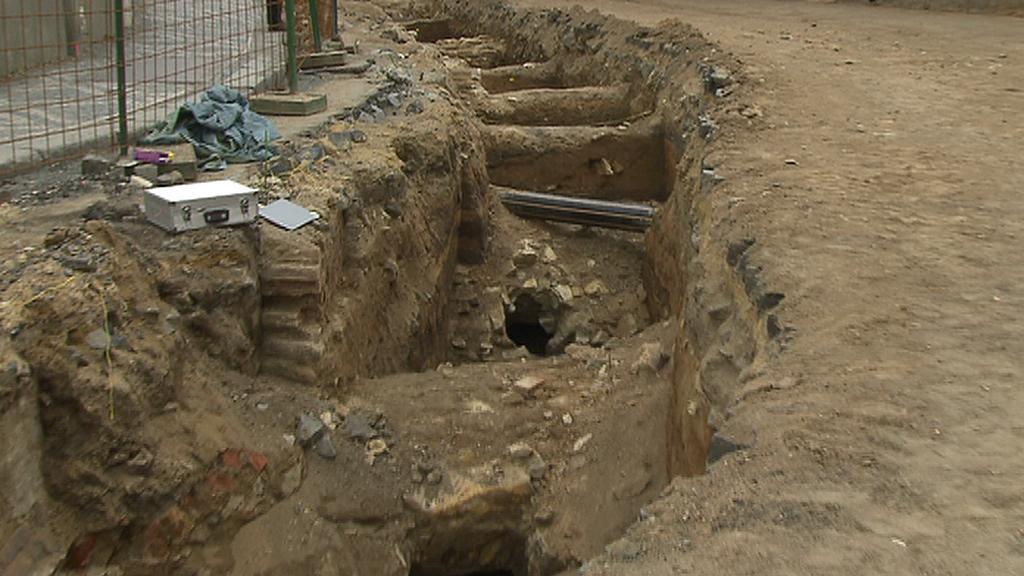 Archeologický výzkum ve Slaném
