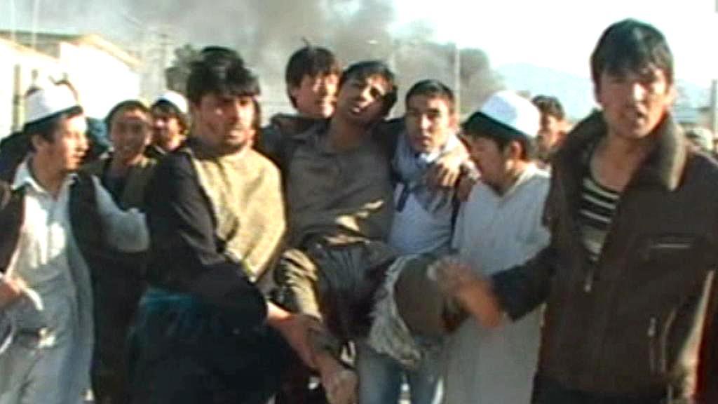 Útok na budovu OSN v Afghánistánu