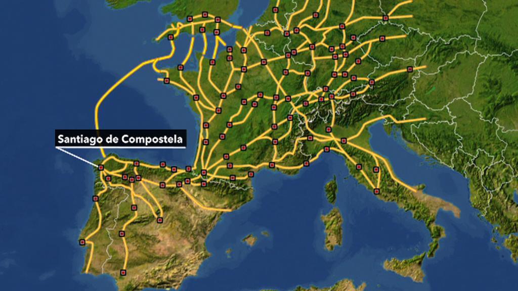 Cesty do Santiaga de Compostela