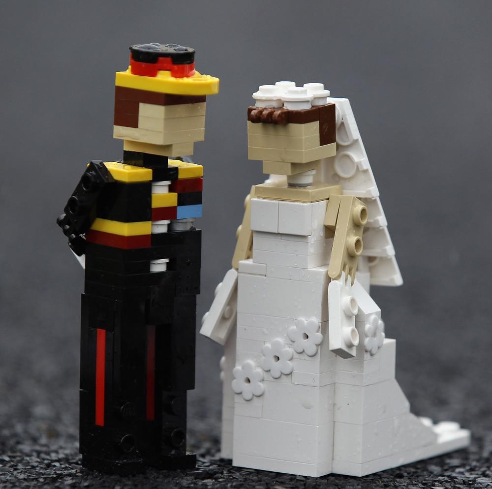 Lego-William a lego-Kate už jsou svoji