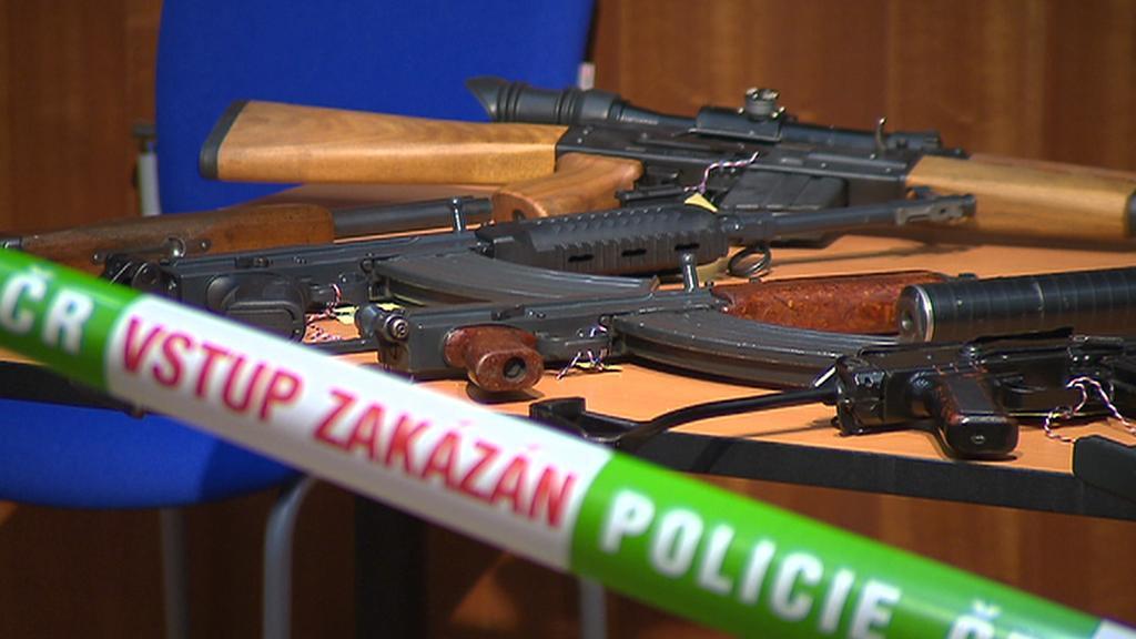 Zabavené zbraně