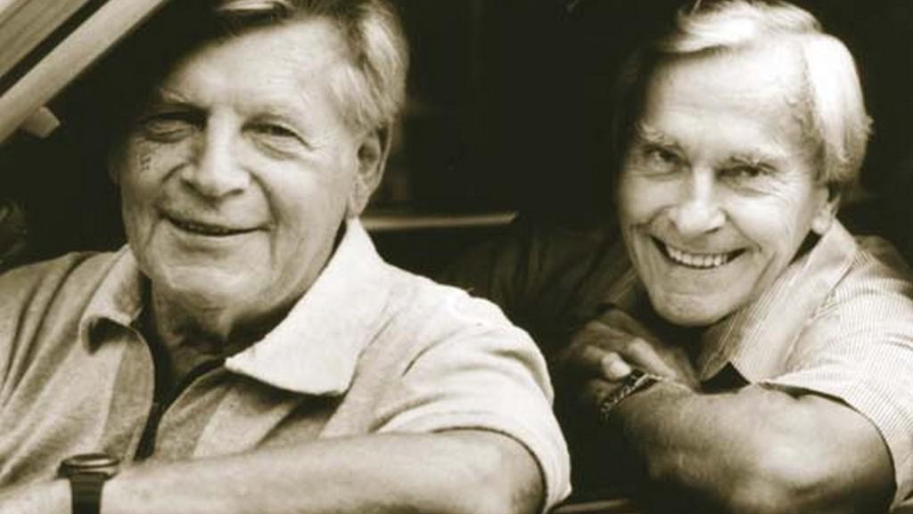 Jiří Hanzelka (vlevo) a Miroslav Zikmund