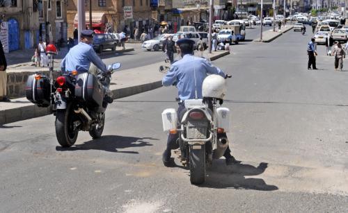 Jemenští policisté
