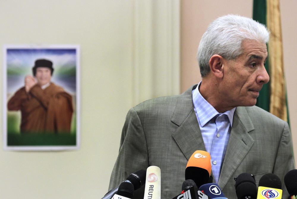 Libyjský ministr zahraničí Músá Kúsa
