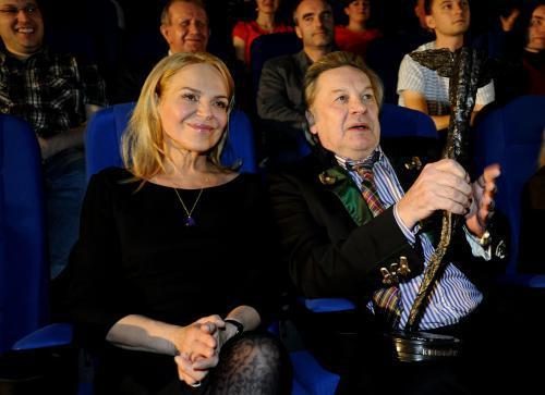 Dagmar Havlová a Helmut Berger