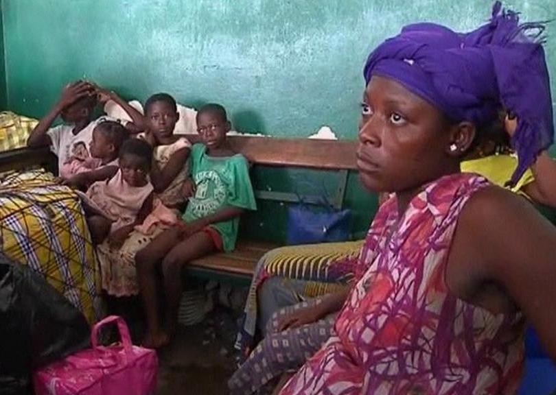 Uprchlíci z Pobřeží slonoviny