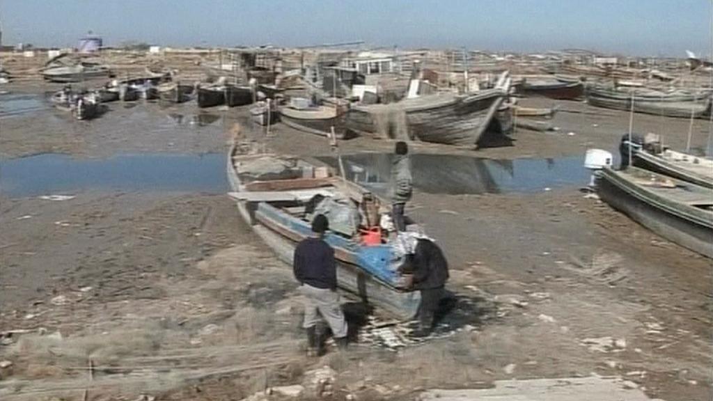 Rybáři v Íránu