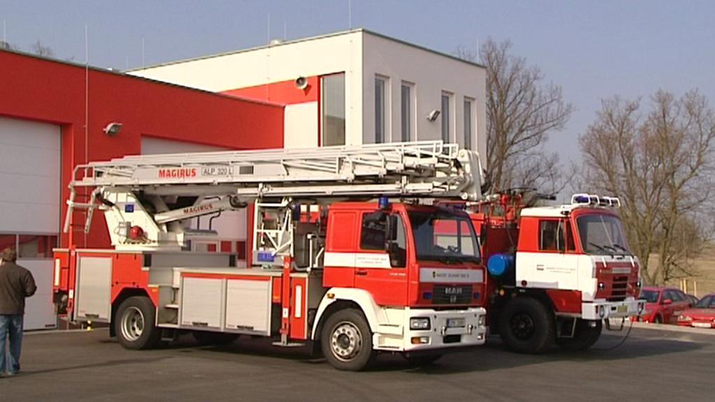 Požární stanice v Tachově