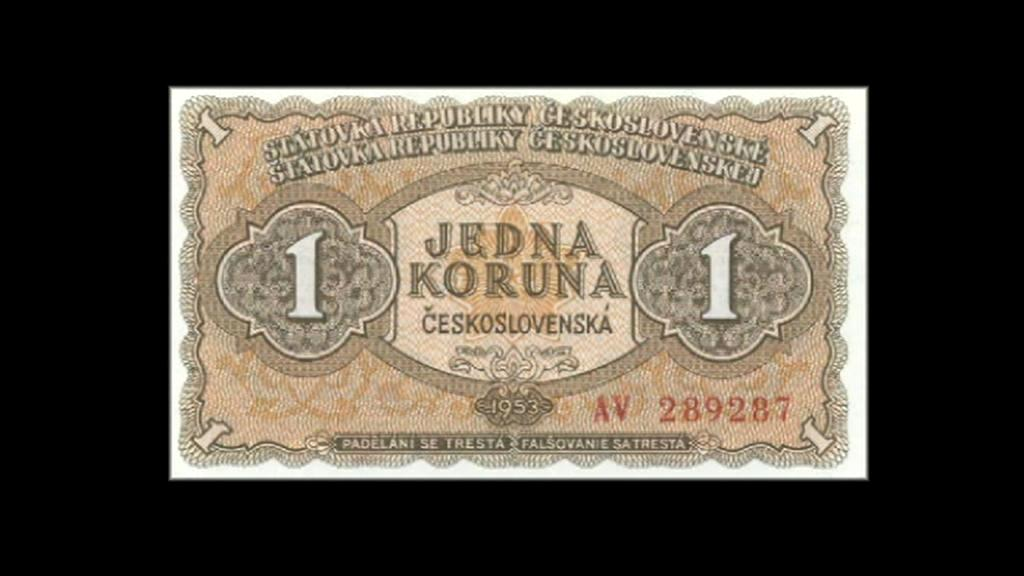 Stará bankovka