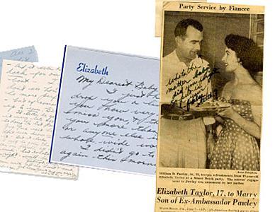 Milostné dopisy Liz Taylorové