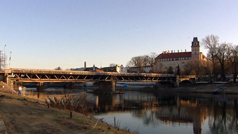 Starý most přes Labe v Brandýse