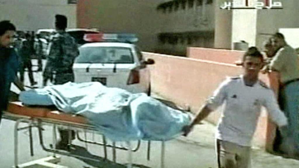 Oběti útoku iráckých ozbrojenců v Tikrítu