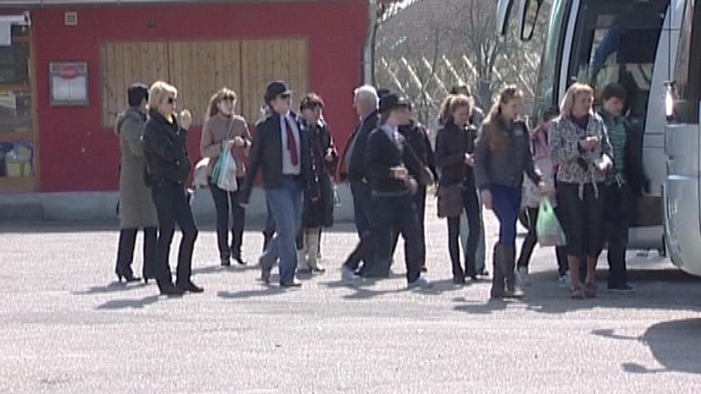 Turisté v jižních Čechách