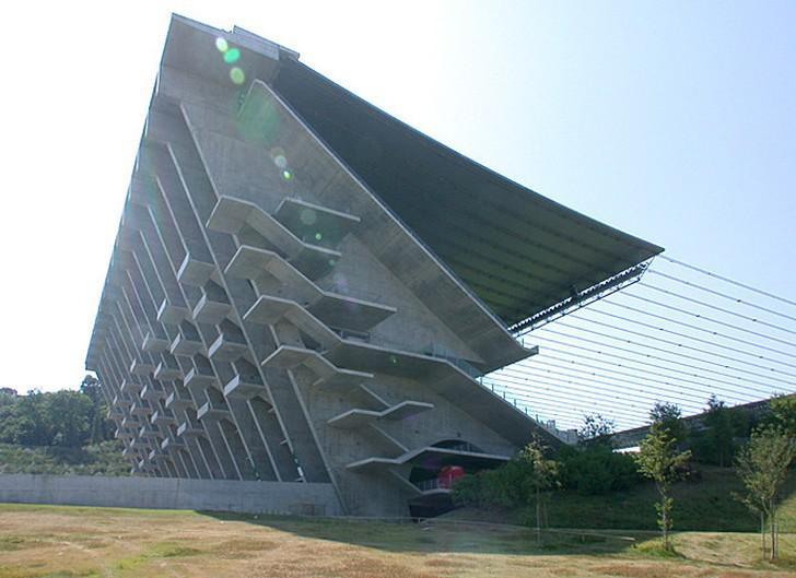 Souto de Moura / Estádio Municipal de Braga (Portugalsko)
