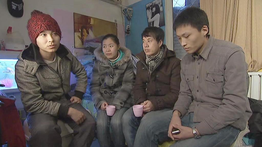 Čínští absolventi