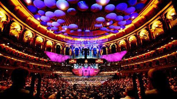 Royal Albert Hall - interiér