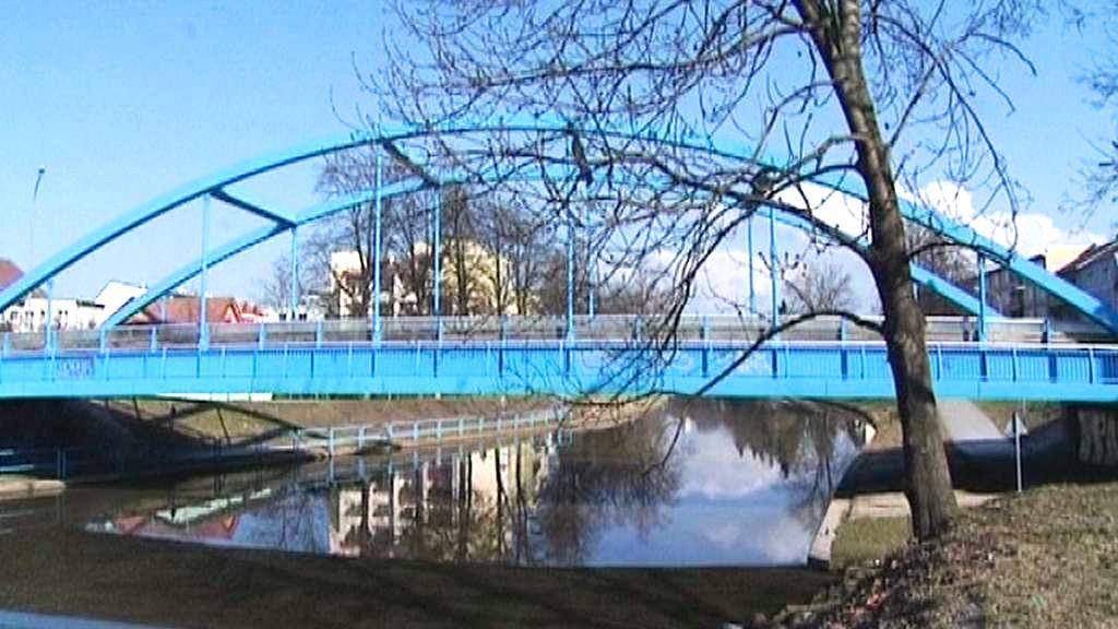 Modrý most v Českých Budějovicích