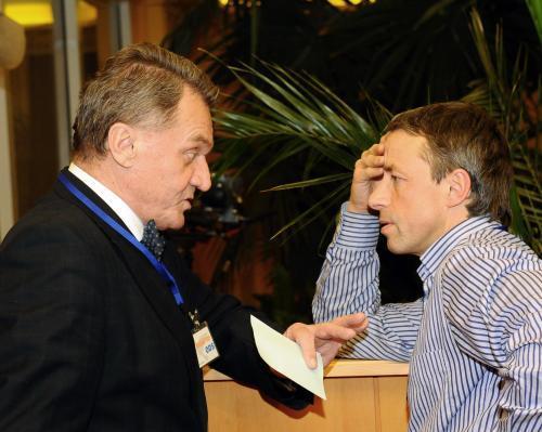 Bohuslav Svoboda a Pavel Bém