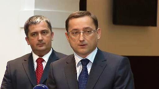 Rudolf Blažek a Petr Hulinský